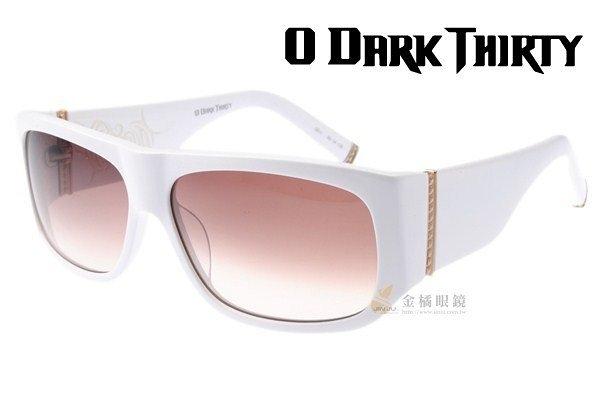 O DARK THIRTY太陽眼鏡 TATTOOYOU C011 (迷戀白) 美國設計師手工精品 #金橘眼鏡