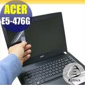 【Ezstick】ACER E5-476 E5-476G 靜電式筆電LCD液晶螢幕貼 (可選鏡面或霧面)