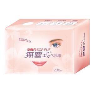 舒妝 無塵式化妝棉200片/盒 48盒/箱