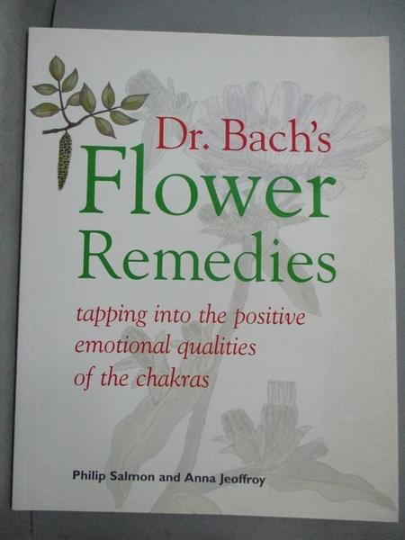 【書寶二手書T1/醫療_YKG】Dr. Bach's Flower Remedies: Tapping into the Positive…