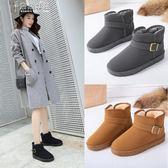 雪靴雪地靴女短筒加絨女靴正韓學生防水防滑保暖棉鞋奈斯女装