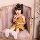 東京著衣【KODZ】酷琪琪聯名甜美氣質蝴蝶結細肩帶洋裝-童-S.M.L(180797)