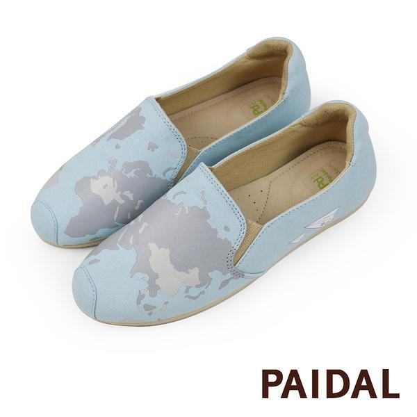 Paidal 環球旅行休閒鞋樂福鞋懶人鞋