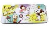 【卡漫城】 Snoopy 單層 鉛筆盒 打電話 ㊣版 文具盒 筆盒 馬口鐵 史努比 史奴比 糊塗塔克 漫畫