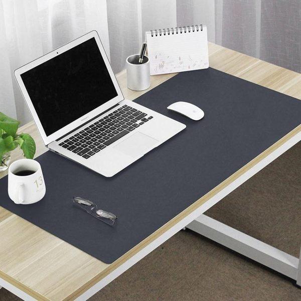 辦公桌墊 大號滑鼠墊防水寫字墊超大皮革滑鼠墊辦公電腦墊【618好康又一發】