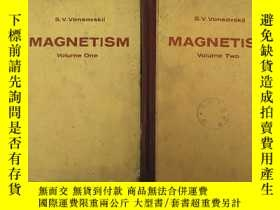 二手書博民逛書店magnetism罕見volume one + two(H416