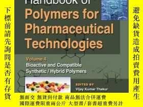 二手書博民逛書店Handbook罕見of Polymers for Pharmaceutical Technologies, Vo