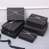 簡約長方形大號禮品盒精美創意生日禮物包裝盒衣服襯衫盒YYP 蓓娜衣都
