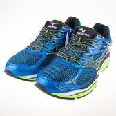 Mizuno  一般型全腳掌吸震波浪片 WAVE ENIGMA 6 男慢跑鞋 J1GC161109 出清價2570元