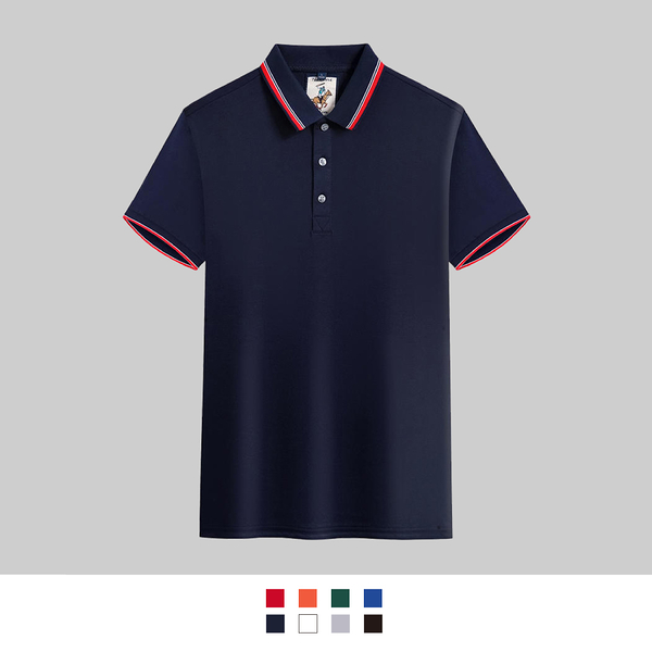 【晶輝團體制服】LSS520*配色素面POLO衫(印刷免費)公司制服,班服