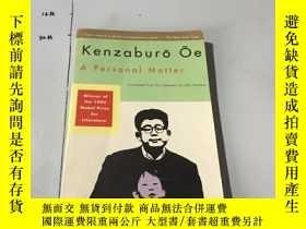 二手書博民逛書店英文原版:A罕見Personal Matter Oe, Kenz