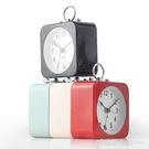 北歐金屬鬧鐘臥室靜音家用鬧錶簡約創意時尚大氣ins石英鐘錶座鐘 中秋特惠