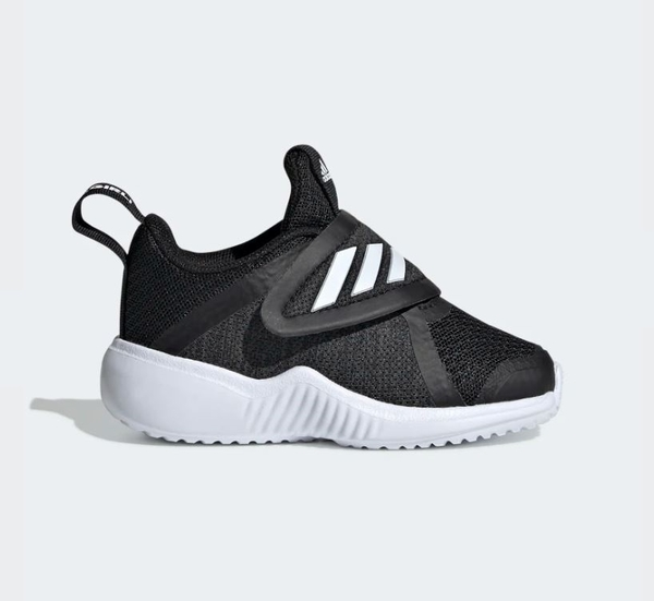 Adidas FORTARUN X SHOES 童鞋黑色運動休閒鞋-NO.G27195