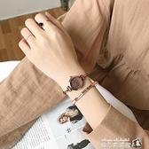 法國小眾手表ins風學生韓版簡約細帶小巧復古文藝森女系防水氣質魔方數碼