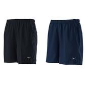 MIZUNO 男款路跑短褲 運動短褲 抗紫外線 反光LOGO J2TB0551 贈1襪 20FW 【樂買網】