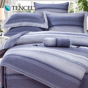 【貝兒居家寢飾生活館】頂級100%天絲床罩鋪棉兩用被七件組(加大雙人/謎悟)