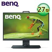 BENQ SW271 27吋 4K HDR 專業色彩管理寬螢幕【加贈多功能露營燈】