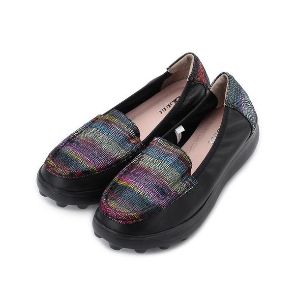 DBL 真皮多彩裂紋包鞋 黑 832-20 女鞋 鞋全家福