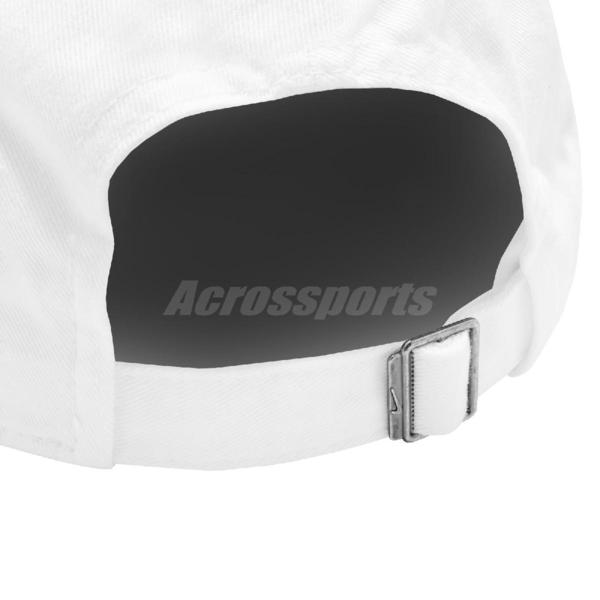 Nike 帽子 NSW H86 Cap 白 粉紅 女款 老帽 棒球帽 運動休閒 【ACS】 AO8662-106