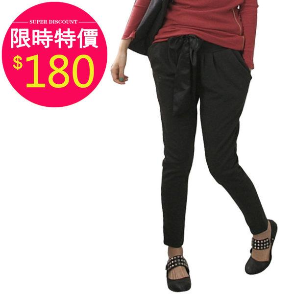 休閑褲【11803】FEELNET中大尺碼女裝春夏裝寬松哈倫小腳褲