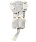 【美國Elegant Baby】動物造型連帽浴巾- 小灰象