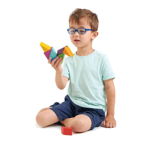 【美國Tender Leaf Toys】設計師磁力積木(益智磁性積木組合)