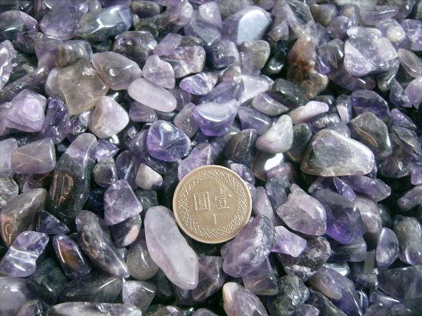【Ruby工作坊】NO.2NPU中號天然紫水晶碎石100G(加持)