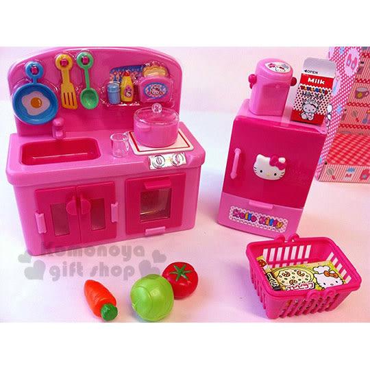 〔小禮堂嬰幼館〕Hello Kitty 扮家家酒廚房玩具組《粉.廚房用具》增加親子互動 4978902-00383