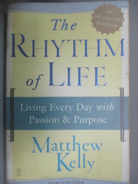 【書寶二手書T7/宗教_OID】The Rhythm of Life: Living Every Day With Pa
