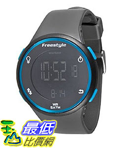 [106美國直購] Freestyle 手錶 Unisex 101378 B008RPAO8S Cadence Round Fitness Workout Gunmetal Watch