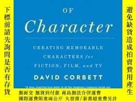 二手書博民逛書店The罕見Art Of Character-性格藝術Y436638 David Corbett Penguin