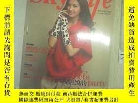 二手書博民逛書店Sky罕見Life 中天VIP會員雜誌(2011冬季刊 總第54