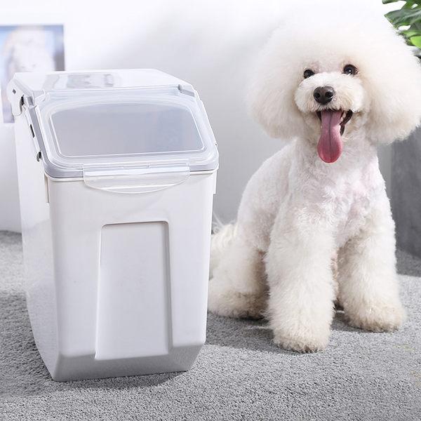 Mr.Box【002001-01】寵物飼料密封收納儲糧桶盒-8~10KG