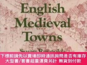 二手書博民逛書店Introduction罕見To The History Of English Medieval TownsY