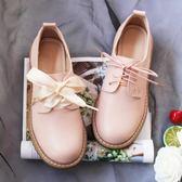 春季上新 春zipper軟妹草莓少女ck小皮鞋女系單鞋洛麗塔學生鞋女仙女鞋子