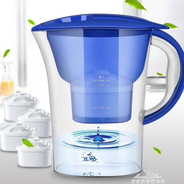 凈水壺過濾水壺凈水器 家用直飲自來水過濾水杯便攜式廚房過濾器 『夢娜麗莎精品館』