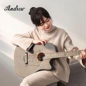 民謠吉他初學者學生成人入門自學38寸41寸木吉他男女生吉它YYP     傑克型男館