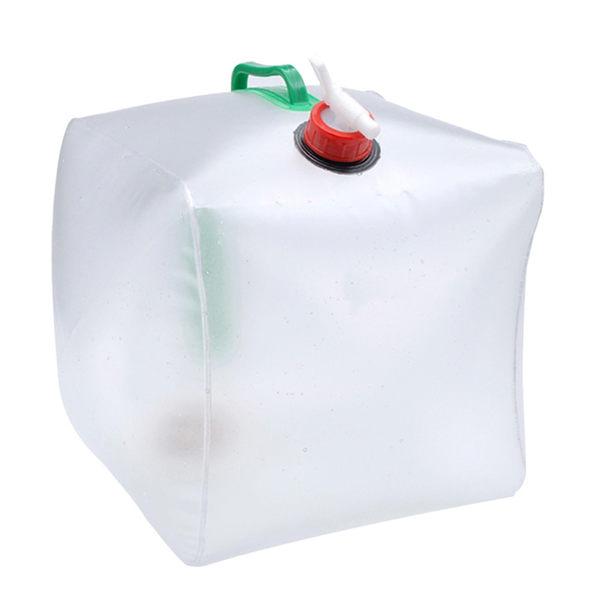 PUSH! 戶外休閒用品 20公升高拉力,強韌耐老化折疊水桶 折疊水壺 P03