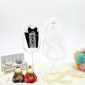 幸福婚禮小物❤高雅酒杯裝飾❤婚禮佈置/酒杯裝飾/婚禮用品
