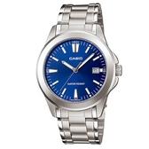 CASIO 時尚新風格都會指針腕錶-羅馬藍面(MTP-1215A-2A2)