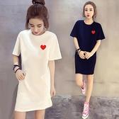 洋裝 夏天網紅同款氣質連身裙夏裝2021新款女裝小個子顯瘦顯高大碼裙子