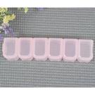 E111六格藥盒(可拆式) [94380] ◇瓶瓶罐罐容器分裝瓶◇