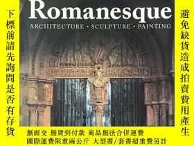 二手書博民逛書店Romanesque罕見Architecture, Sculpt