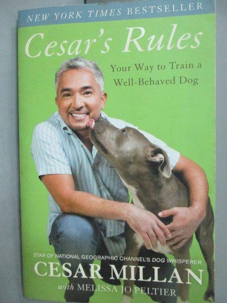 【書寶二手書T3/原文書_KDW】Cesar s Rules-Your Way to Train a Well-Beha