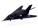 【4D Master】60025D 立體拼組模型 戰鬥機系列 F-117A Night Hawk 1:155 Model