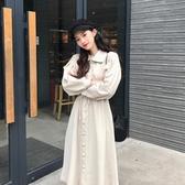 連衣裙 2019年新款初秋女裝潮冬季連衣裙子春裝高冷系御姐風成熟氣質【免運】