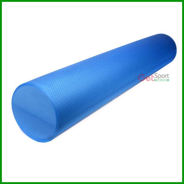 壓紋瑜珈柱90公分(36吋/瑜伽棒/泡綿滾筒/瑜珈滾輪/按摩棒/腿部按摩/FOAM ROLLER)