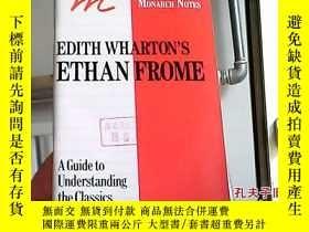 二手書博民逛書店Edith罕見Wharton s Ethan Frome: A