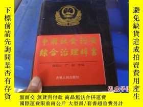二手書博民逛書店罕見中國社會治安綜合治理辭書Y25254 謝安山 嚴勵 吉林人民