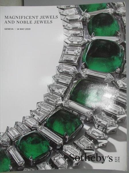 【書寶二手書T1/收藏_XCR】Sotheby s_Magnificent Jewels and…2019/5/14